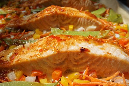 Thai Glazed Salmon (Feb. 26)