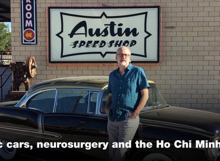 Classic Cars, Neurosurgery, and the Ho Chi Minh Trail