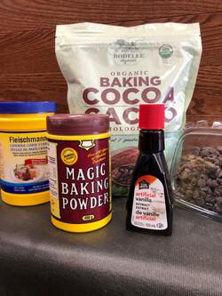 Baking supplies