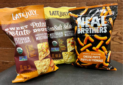 Late July Sweet Potato Corn chips, also