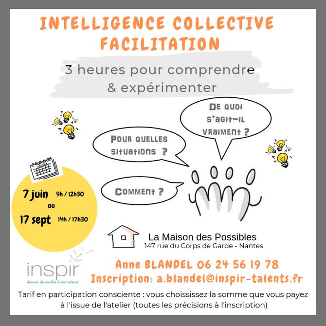 Atelier découverte Intelligence Collective et Facilitation