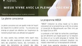 Programme MBSR  janvier 2020