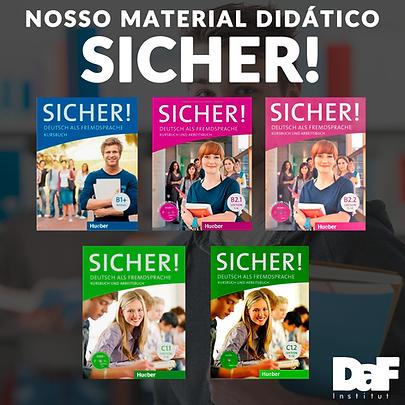 Material didatico DaF institut - SICHER.