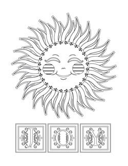 Sun Joy Illustration