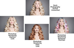 Hair and Makeup Retouching