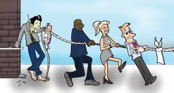 Social Loafing Illustration