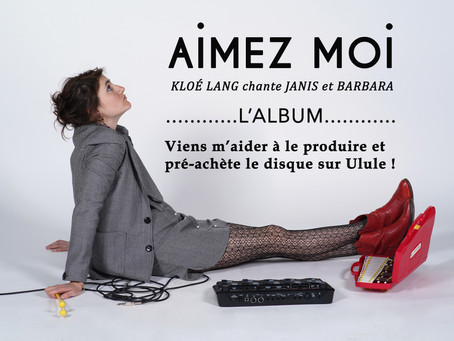 🌈 ✨ AIMEZ MOI l'album en production avec ULULE 🎶 ✨