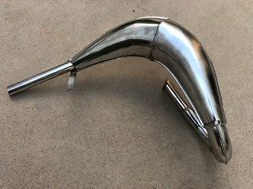 WC80 MZ65 Style Exhaust Pipe Expansion Chamber