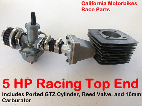 GTZ ULTRA Ported Cylinder+ Reed Valve+ 16mm Race Carburator