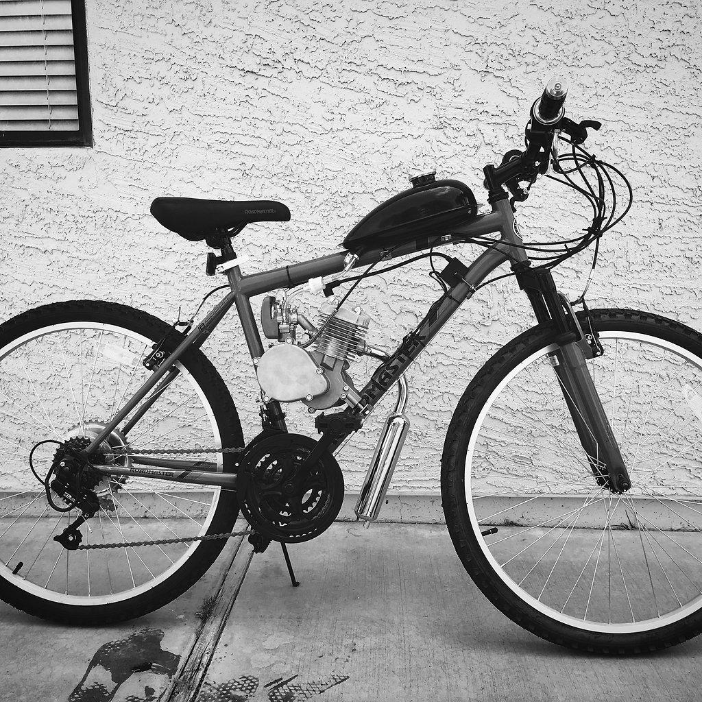 Motorized Bike Kits- California Motorbikes