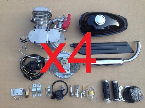 4x 80cc Wildcat Engine Kits