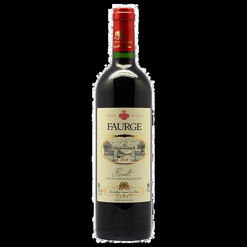 Faurge Herault Red AOP 2014 富鑽石紅葡萄酒2014