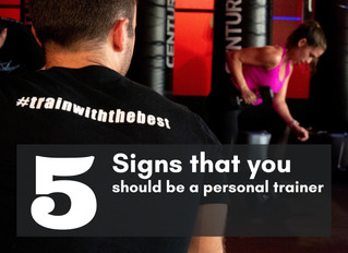 5 Signs That You Should Be a Personal Trainer