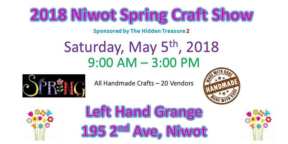 Niwot Spring Craft Show