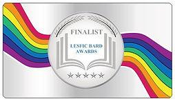 LesFic Bard Award silver-finalist-3.43x1