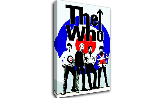'The Who' Heated Canvas