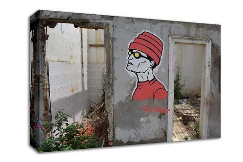 'Where's Wally ' Heated Canvas