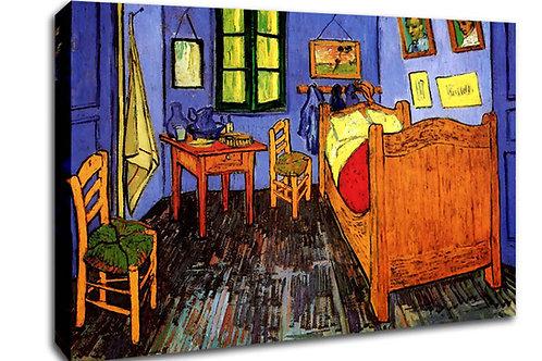'Purple Bedroom ' Heated Canvas