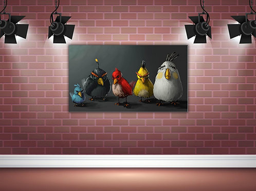 'Angry Birds' Heated Canvases