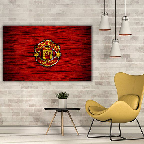 'Manchester United' Heated Canvas