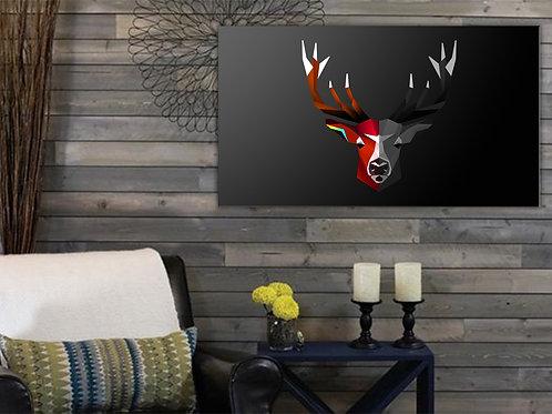 'MultiDeer' Heated Canvas