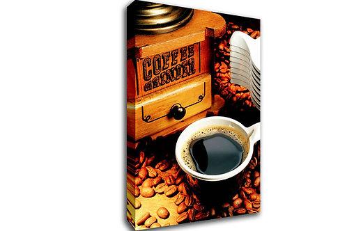'Coffee Grinder' Heated Canvas