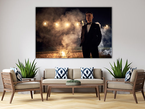 'Peaky  Tommy' Heated Canvas