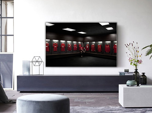 'MUFC ROOM' Heated Canvas