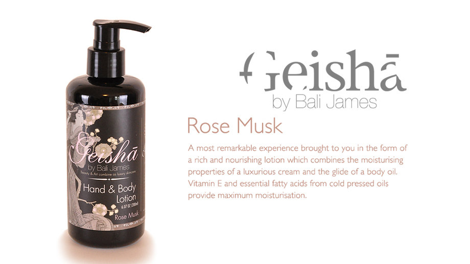 Rose Musk Hand and Body Lotion