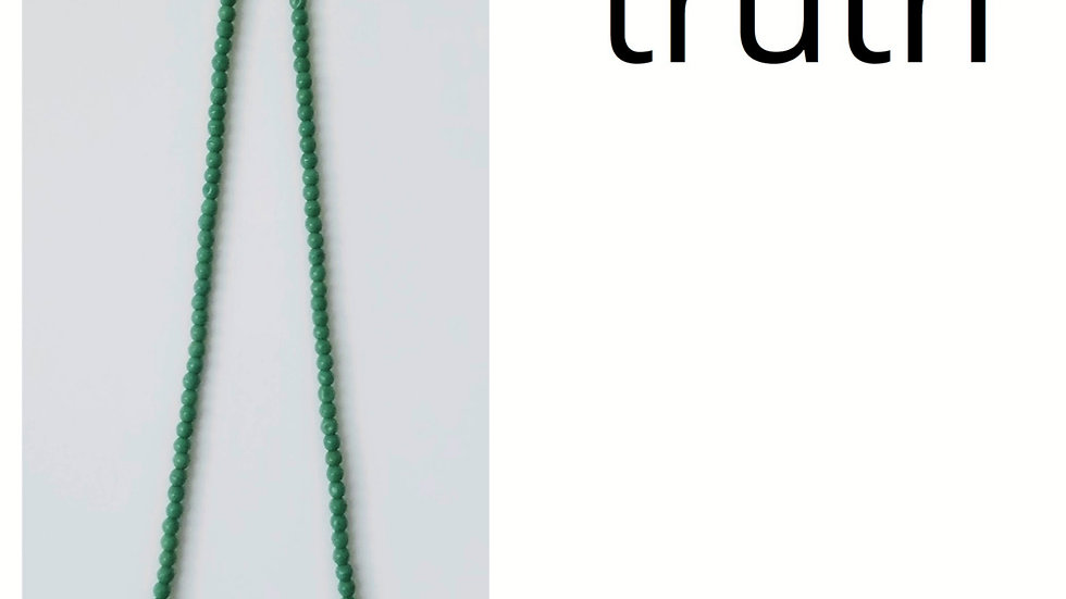 Truth Beaded Necklace
