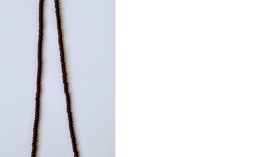 Strength-Beaded Necklace