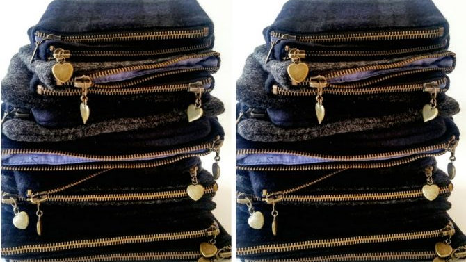 Larger Accessory Bags 8x6
