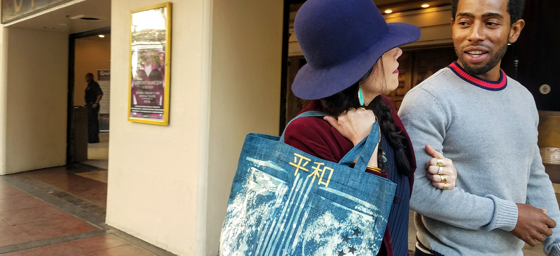 All Nations for PEACE, Denim Bag.