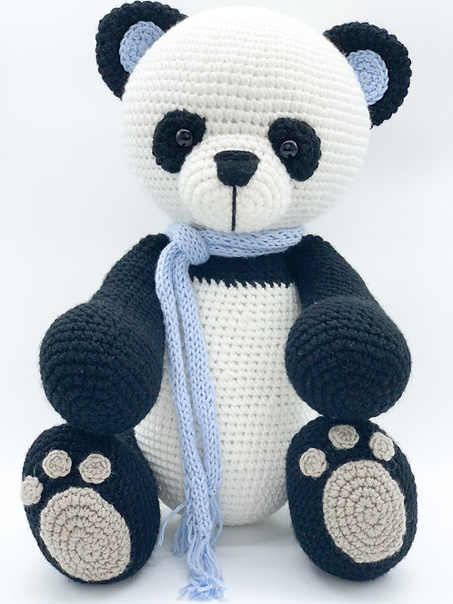 TEMBO Collection- Panda Bear- Blue