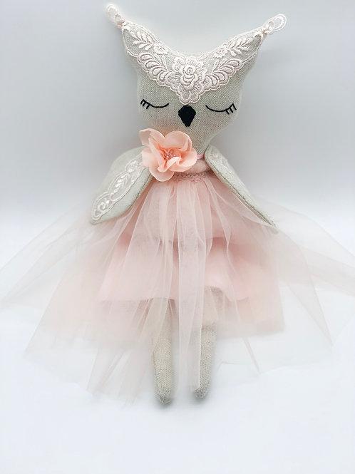 AURORA COLLECTION- Owl Peach