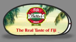 Fiji Bitter Tear Drop Banner