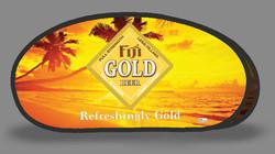 Fiji Gold Tear Drop Banner