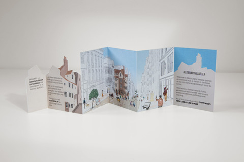 Folding flyer design