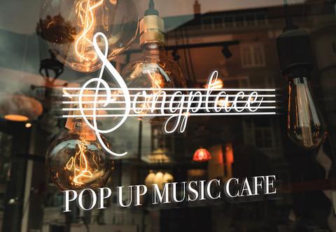 Affordable logo design for a Pop up cafe