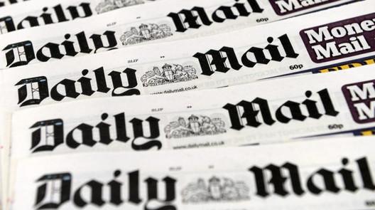Газета «DAILYMAIL», журналист Ален Робетсон