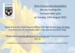 ECA Summer Litterpick 15th August