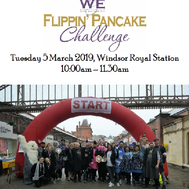 The Windsor business pancake challenge!