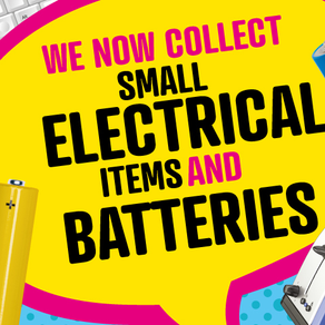 Recycle small electrical items