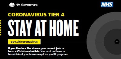 Tier 4 - Stay at Home - the Rules