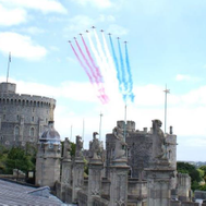 RAF flypast in Windsor