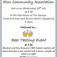 ECA Meeting & Beer tasting 28th July