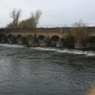 Urgent repairs on Jubilee River