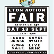 18th Sept - The Eton Action Fair