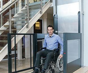elevador de discapacitados