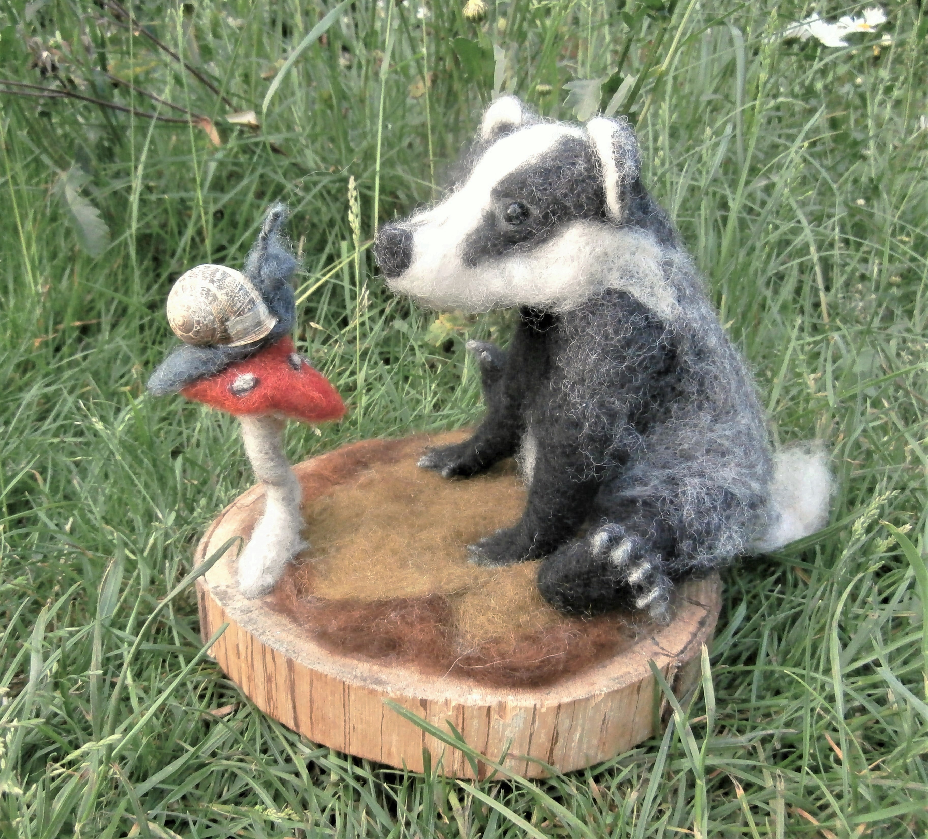 Badger and Snail Surprise